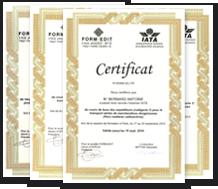 Certification IATA